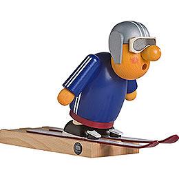 Räuchermännchen Skispringer  -  16cm