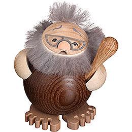 Räuchermännchen Ur - Kugler Smarti  -  Kugelräucherfigur  -  9cm