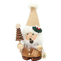 Räuchermännchen Weihnachtsmann natur  -  14cm