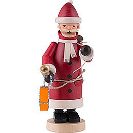 Räuchermännchen Weihnachtsmann rot  -  20cm