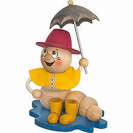 Räucherwurm Regen Rudi  -  14cm