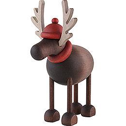 Rudolf the Reindeer Standing  -  12cm / 4.7 inch