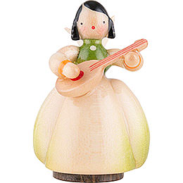 Schaarschmidt Angel with Mandoline  -  4cm / 1.6 inch