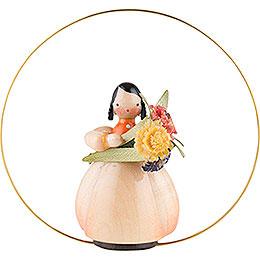 Schaarschmidt Blumenkind Ringelblume im Ring  -  6cm