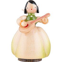 Schaarschmidt Engel mit Mandoline  -  4cm