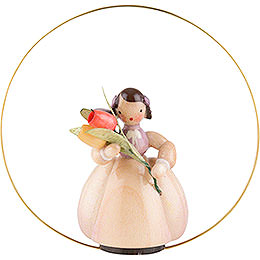 Schaarschmidt Flower Child Tulip in Ring  -  6cm / 2.4 inch