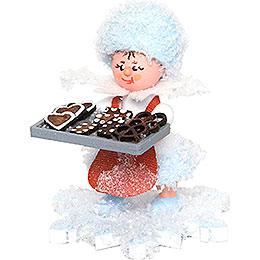 Schneeflöckchen Lebkuchenbäcker  -  5cm