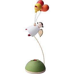 Schutzengel mit 3 Luftballons fliegend  -  3,5cm
