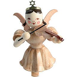 Schwebeengel Violine, natur  -  6,6cm