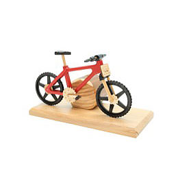 Smoker  -  Bicycle EBM Red 20x9x14cm / 9x4x6 inch