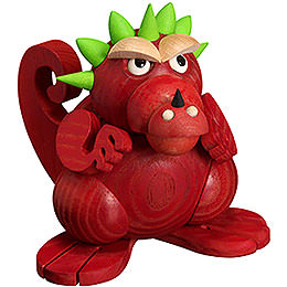 Smoker  -  Dragon Teenager  -  Ball Figure  -  11cm / 4 inch