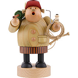 Smoker  -  Forest Worker  -  18cm / 7 inch