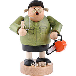 Smoker  -  Forest Worker  -  20cm / 7.9 inch