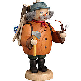 Smoker  -  Forest Worker Gnome  -  19cm / 7 inch