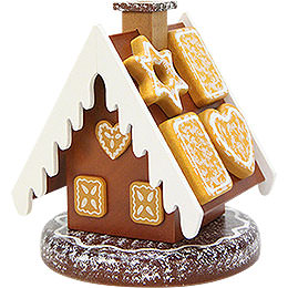 Smoker  -  Gingerbread House  -  13cm / 5 inch