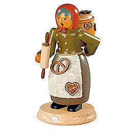 Smoker  -  Gingerbread Salesman  -  25cm / 10 inch