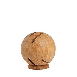 Smoker  -  Globe Modern Oak  -  11cm / 4 inch