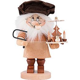 Smoker  -  Gnome Christmas Pyramid Artisan  -  28cm / 11 inch