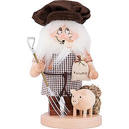 Smoker  -  Gnome Farmer  -  28cm / 11 inch