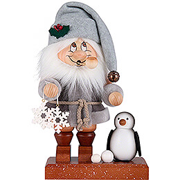 Smoker  -  Gnome North Pole Santa  -  28,5cm / 11 inch