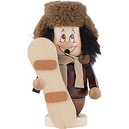 Smoker  -  Gnome Snowboarder  -  13cm / 5 inch