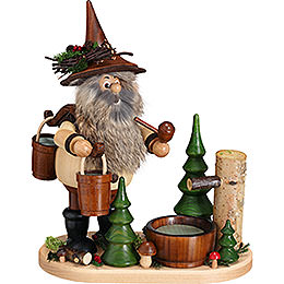 Smoker  -  Gnome Water Carrier  -  26cm / 10.2 inch
