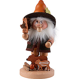 Smoker  -  Gnome Wild Animal Lover  -  33,5cm / 13.2 inch