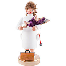Smoker  -  Midwife  -  22cm / 8.7 inch
