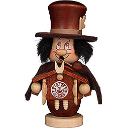 Smoker  -  Mini Gnome Black Forest Man  -  15cm / 5.9 inch