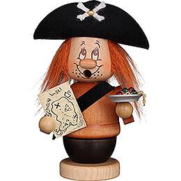 Smoker  -  Mini Gnome Pirat  -  14cm / 5.5 inch