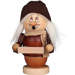 Smoker  -  Mini Gnome Striezel Girl  -  13cm / 5.1 inch