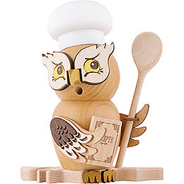 Smoker  -  Owl Cook/Chef  -  15cm / 5.9 inch