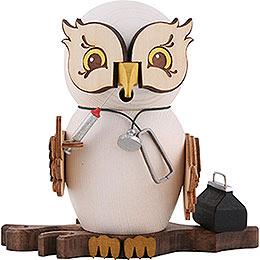 Smoker  -  Owl Doctor  -  15cm / 5.9 inch