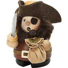 Smoker  -  Pirate Natural Wood  -  9cm / 4 inch