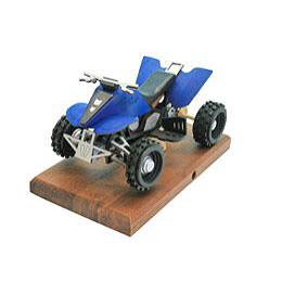 Smoker  -  Quad Blue 22x13x13cm / 8x5x5 inch