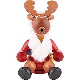 Smoker  -  Santa Moose  -  24cm / 9 inch