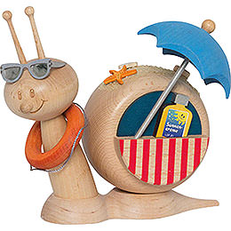 Smoker  -  Snail Sunny Beach Snail  -  16cm / 6.3 inch