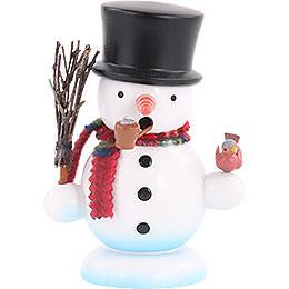 Smoker  -  Snowman  -  15cm / 6 inch