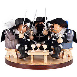 Smoker  -  Three Musketeers  -  22cm / 8 inch