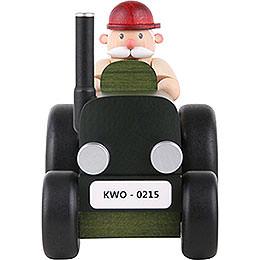 Smoker  -  Tractor Driver Mini  -  10cm / 3.9 inch