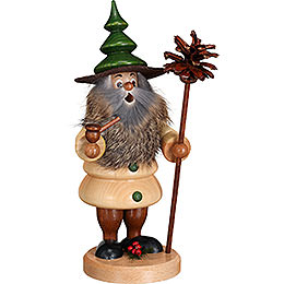 Smoker  -  Tree Gnome Cone Man  -  21cm / 8.3 inch