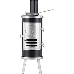 Smoking Stove  -  Carpener's Glue Stove Black  -  14,5cm / 5.7 inch