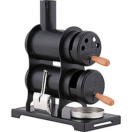 Smoking Stove  -  The Workshop Stove Black  -  13,5cm / 5.3 inch