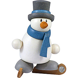 Snow Man Otto on Ice Skates  -  8cm / 3.1 inch