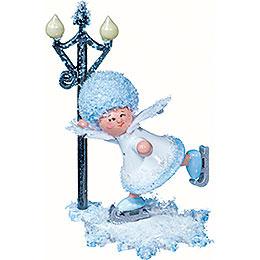 Snowflake Figure Skater  -  5cm / 2 inch