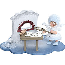 Snowflake in Christmas Bakery  -  10x7x6cm / 4x2.8x2.3 inch