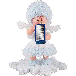 Snowflake with Melodica  -  5cm / 2 inch