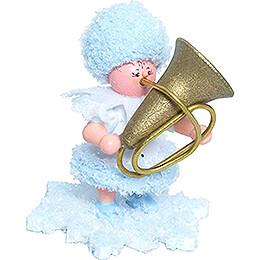 Snowflake with Tuba  -  5cm / 2 inch