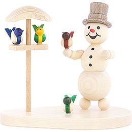 Snowman Bird House  -  12cm / 4.7 inch