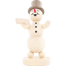 Snowman Musician Singer  -  12cm / 4.7 inch
